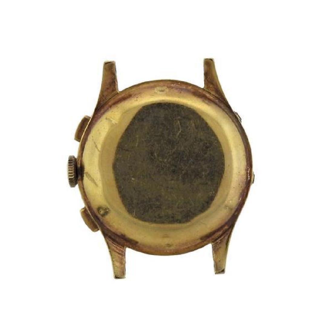 Heuer 18K Gold Chronograph Annual Calendar Watch - 2