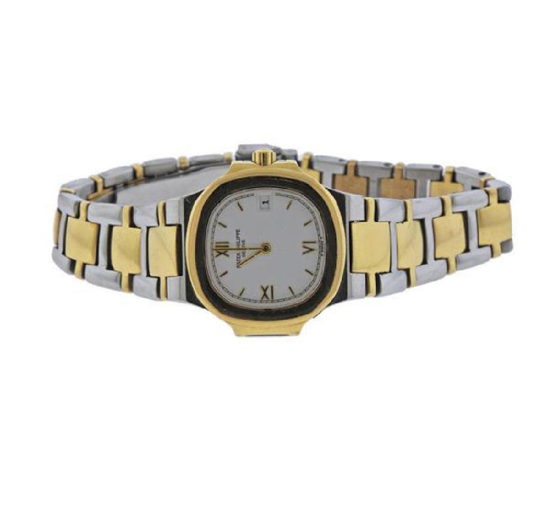 Patek Philippe Nautilus 18K Gold Steel Lady's Watch