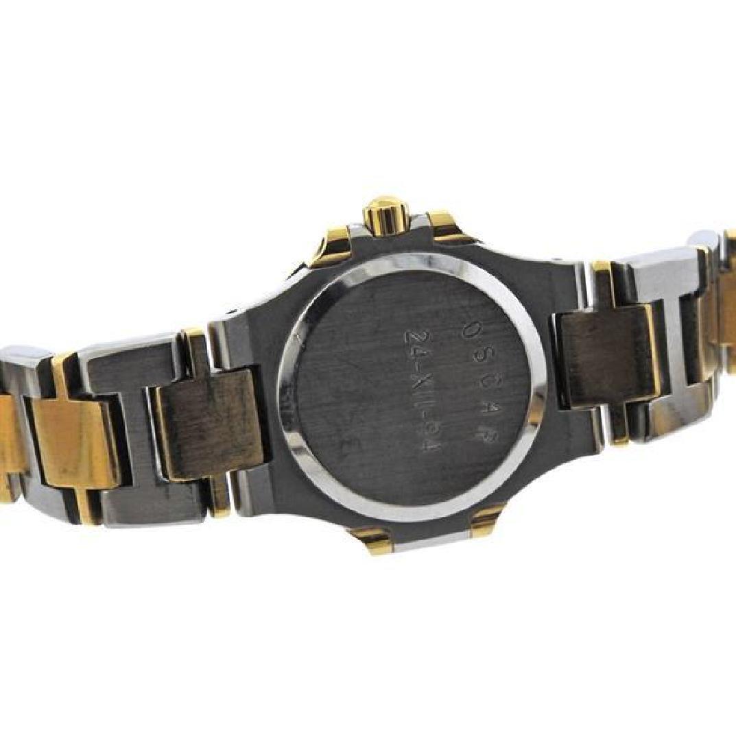 Patek Philippe Nautilus 18K Gold Steel Lady's Watch - 3