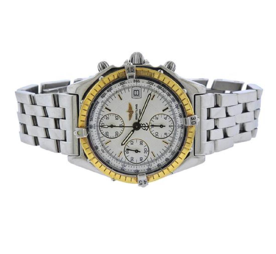 Breitling Chronomat Steel 18k Gold Chronograph Watch