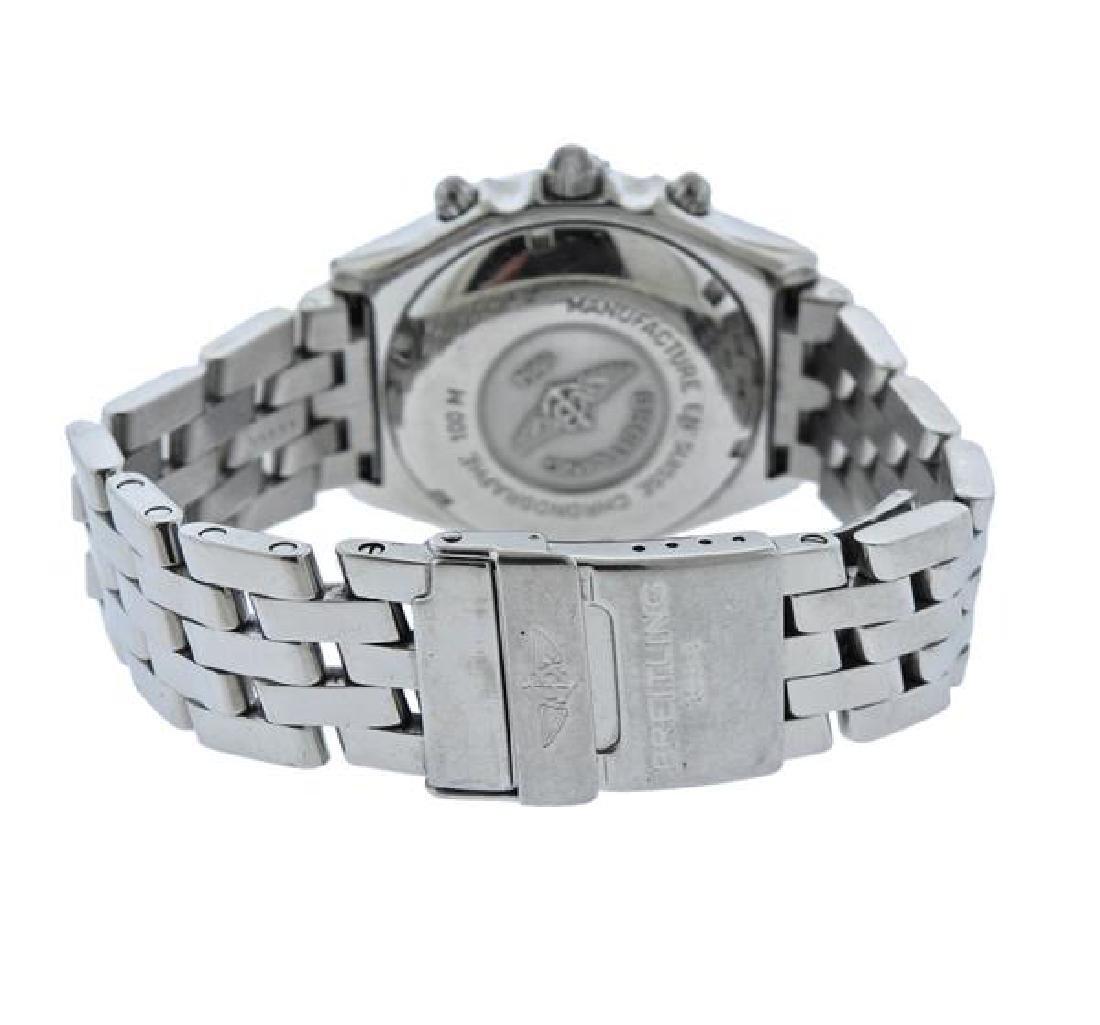Breitling Chronomat Steel 18k Gold Chronograph Watch - 2