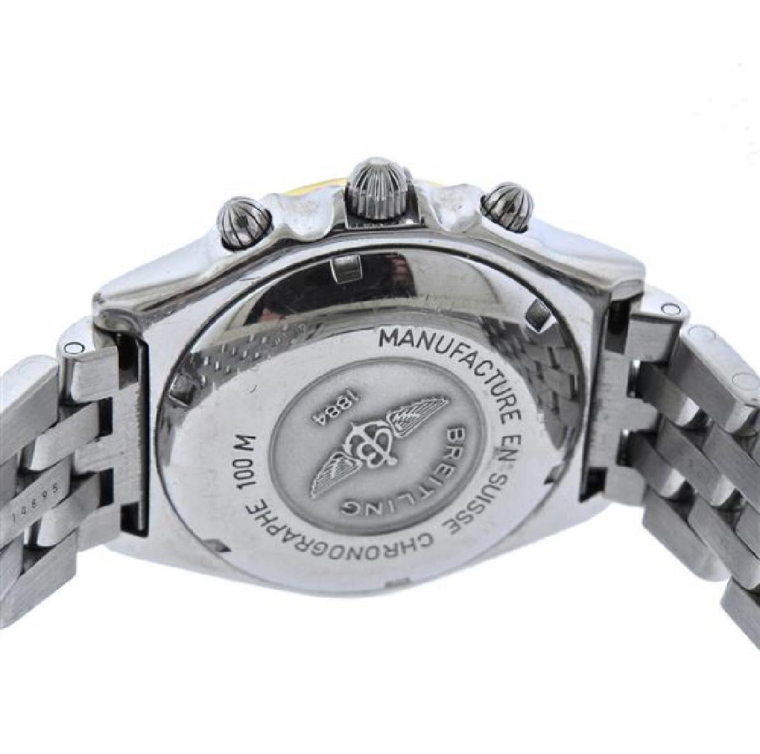 Breitling Chronomat Steel 18k Gold Chronograph Watch - 3