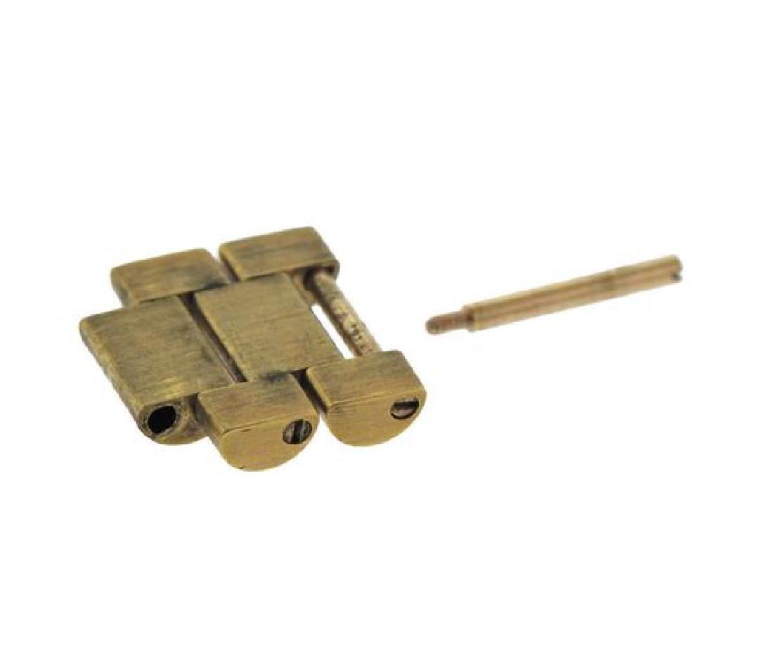 Rolex 18k Gold Link Pin Lot - 2