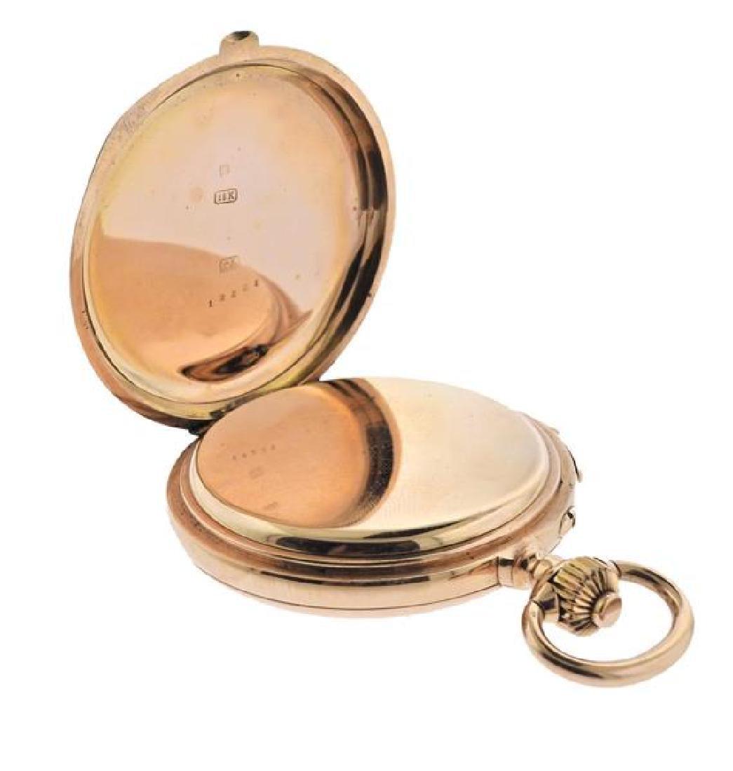 C.E. Lardet Fleurier Gold Minute Repeater Pocket Watch - 4