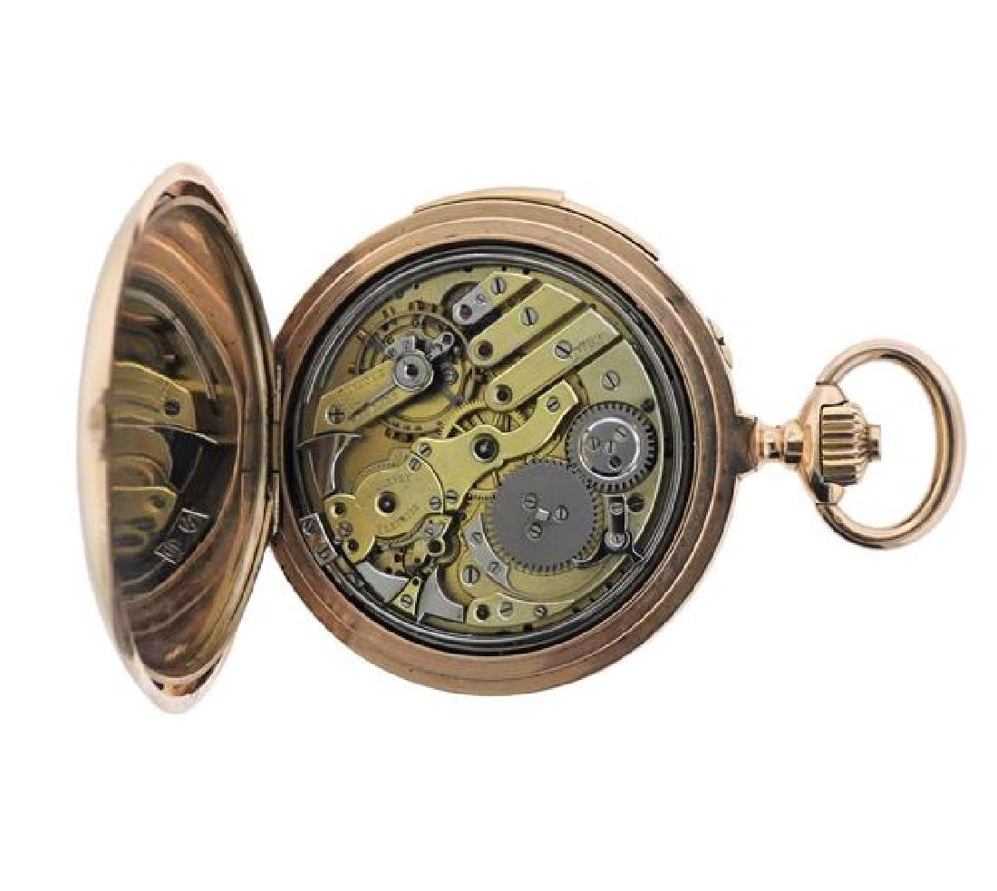 C.E. Lardet Fleurier Gold Minute Repeater Pocket Watch - 5