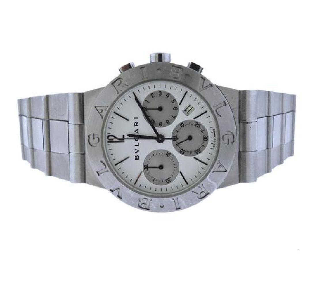 Bvlgari Bulgari Diagono Chronograph Automatic Watch