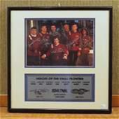 Star Trek  Original Cast Photograph Signed