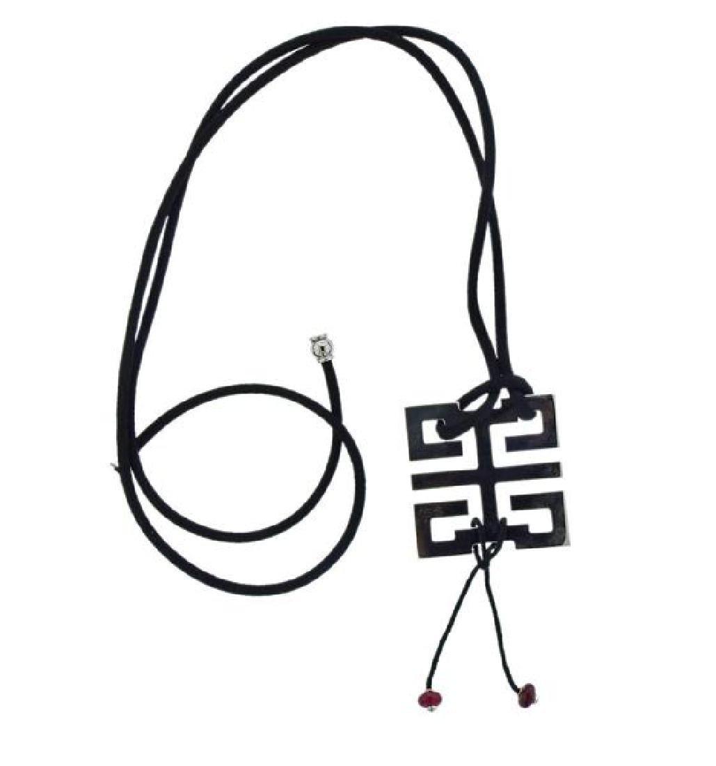 Cartier Le Baiser du Dragon 18k Gold Ruby Cord Necklace