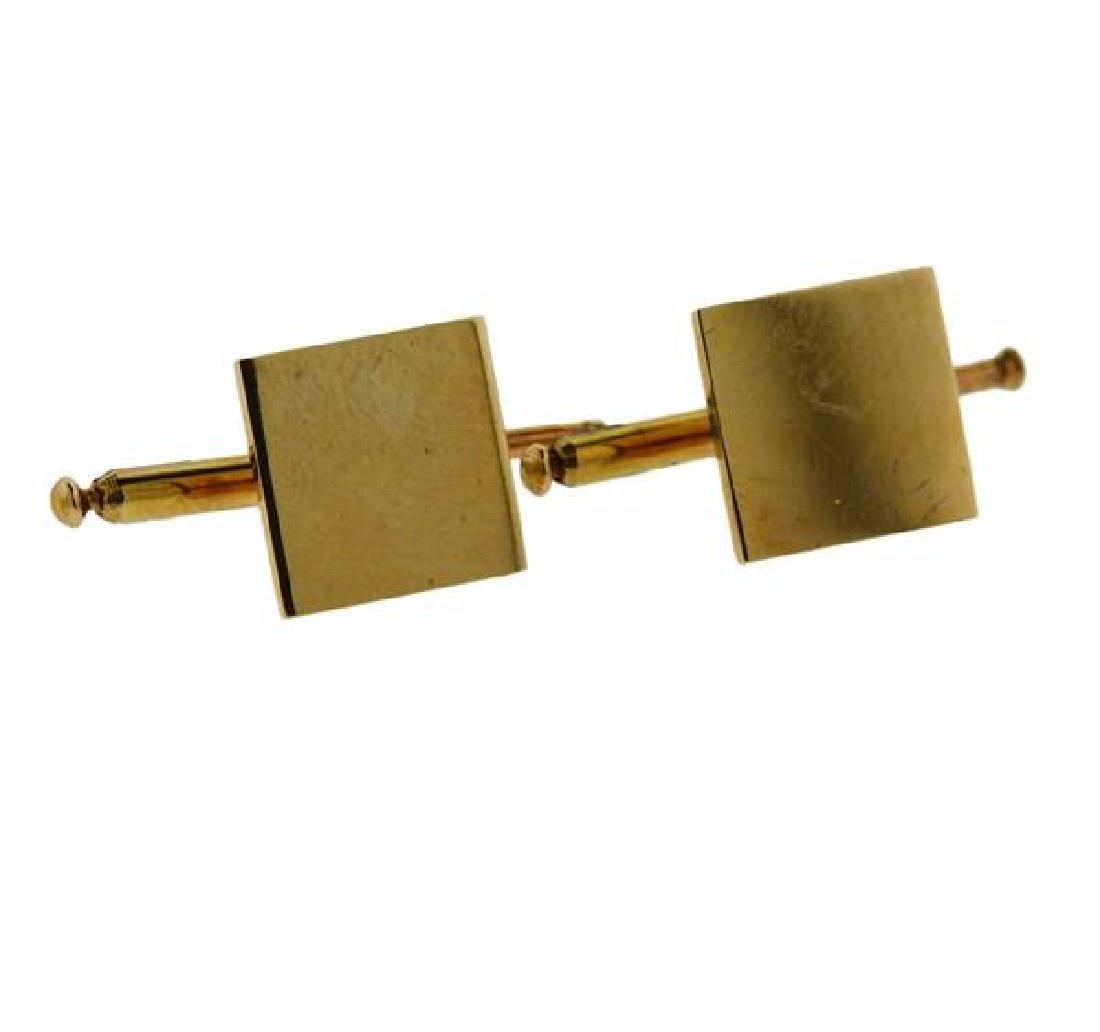 14k Gold Stud Set 2pc