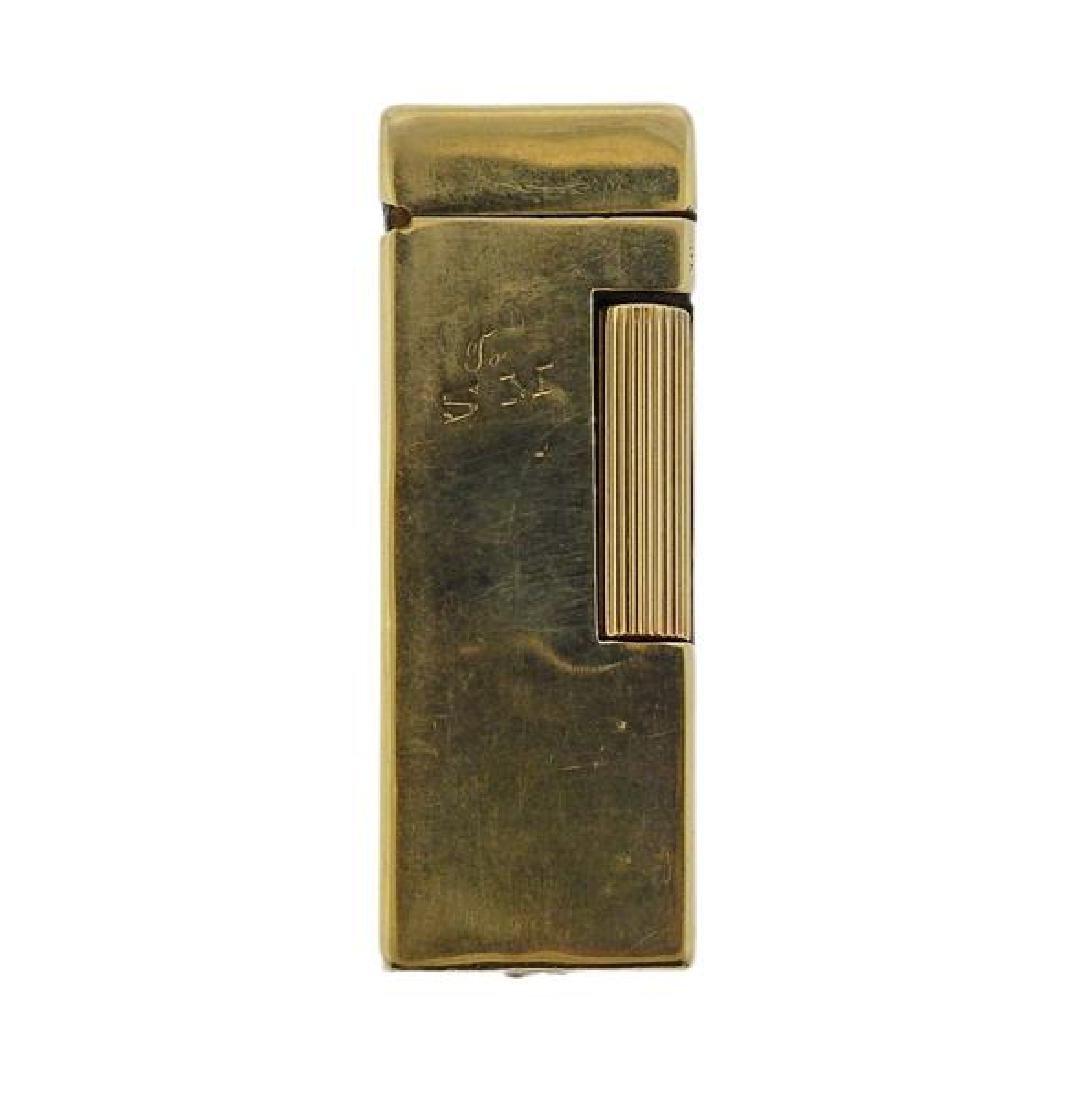 Dunhill 14K Gold Lighter