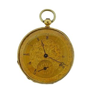 0684e34b0 Vacheron Constantin 18K Gold Pocket Watch Vacheron Constantin 18K Gold Pocket  Watch