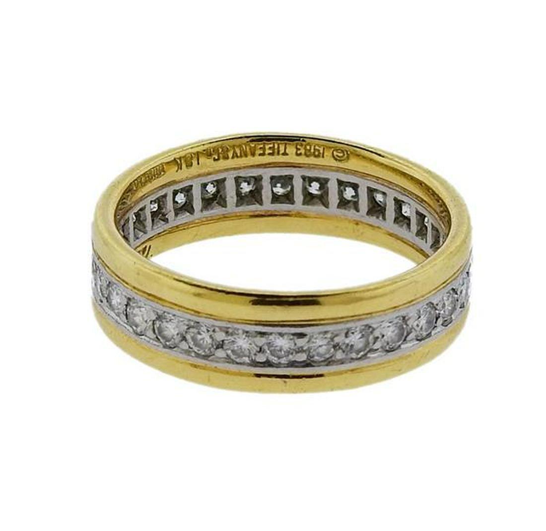 Tiffany & Co Paloma Picasso Platinum 18K Gold