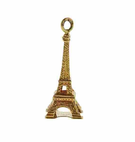 18K Gold Eiffel Tower Charm