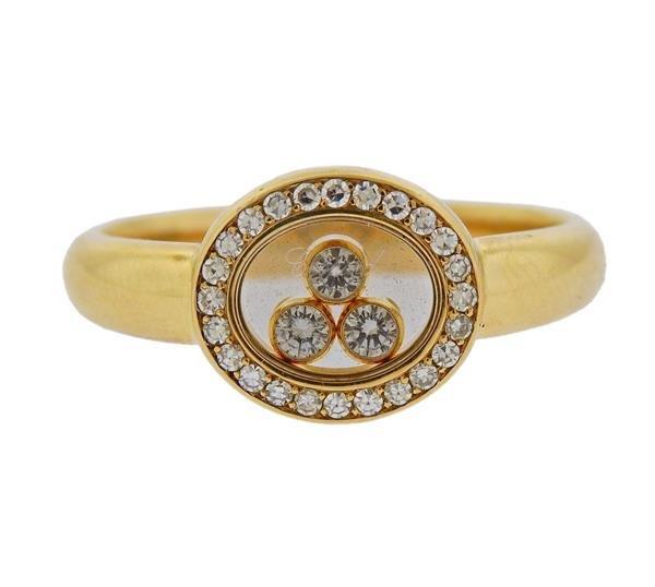 Chopard Happy Diamond 18K Gold Ring
