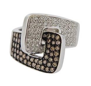 18K Gold Fancy Diamond Ring