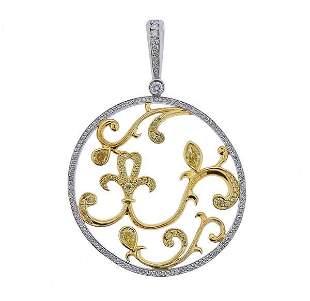 Michael Beaudry Platinum Gold Fancy White Diamond
