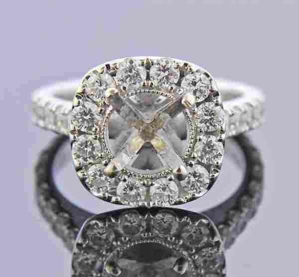 Neil Lane 14K Gold Diamond Engagement Ring Setting