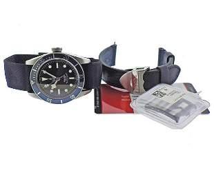 Tudor Heritage Black Bay Steel Watch 79220B