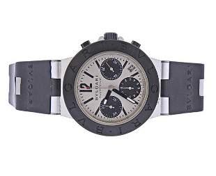 Bvlgari Bulgari Diagona Aluminum Rubber Chronograph