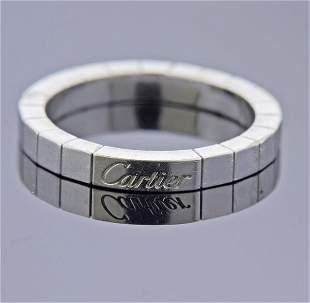Cartier Lanieres 18K Gold Wedding Band Ring
