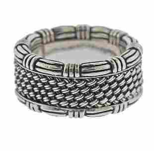 John Hardy Silver Band Ring