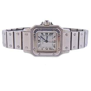 Cartier Santos Galbee Stainless Steel Automatic Watch