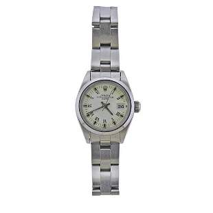 Rolex Oyster Perpetual Date Automatic Lady's Watch