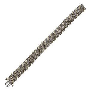 Gold 6ctw Diamond Bracelet