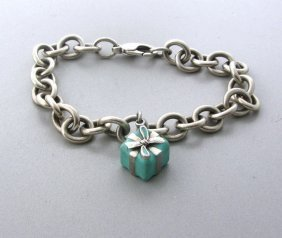 Tiffany & Co Sterling Charm Bracelet