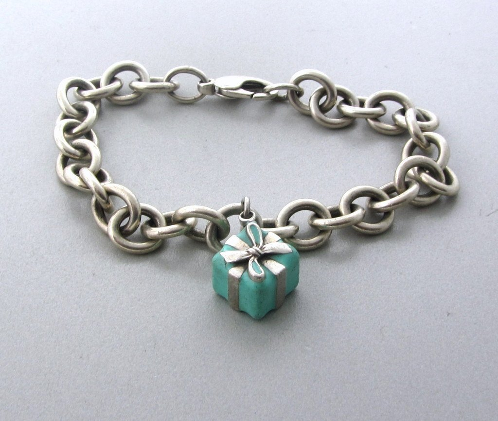 008: Tiffany & Co Sterling Charm Bracelet