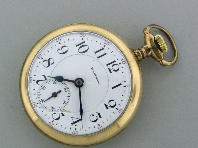 23: Waltham Railroad 21Jewel Pocket Watch
