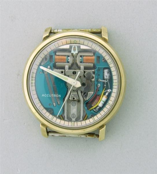 Vintage Bulova Accutron Spaceview watch 1960s