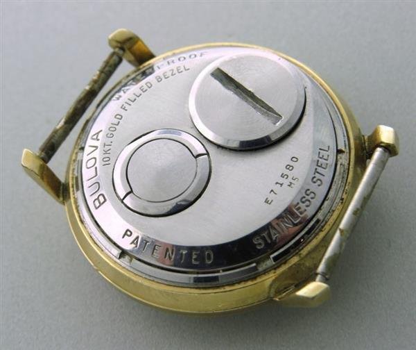 Vintage Bulova Accutron Spaceview watch 1960s - 3