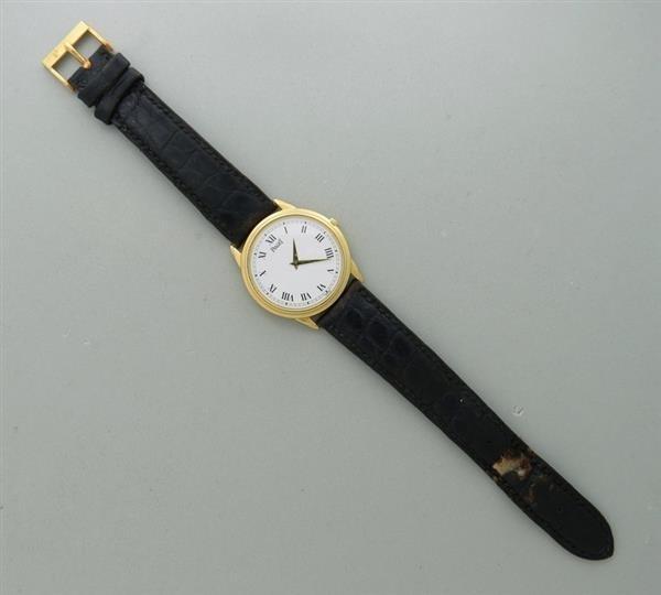 18k Gold Piaget  Watch Skeleton Back ref 90970