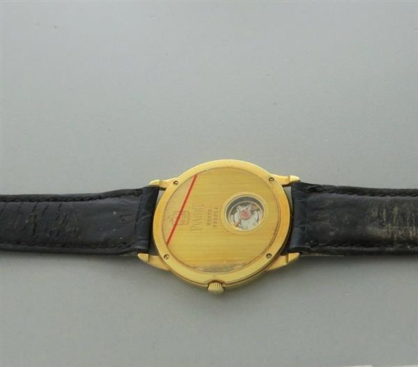 18k Gold Piaget  Watch Skeleton Back ref 90970 - 2