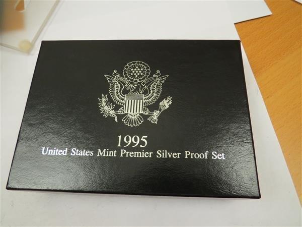 US 1995 S Mint Premier Silver Coin Proof Set