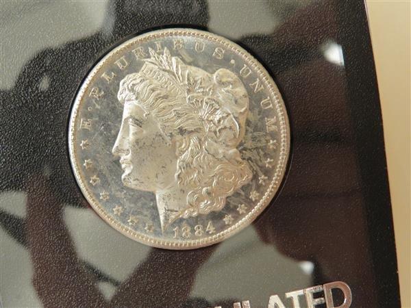 US 1884 Carson City Morgan Silver Dollar Coin #82207047