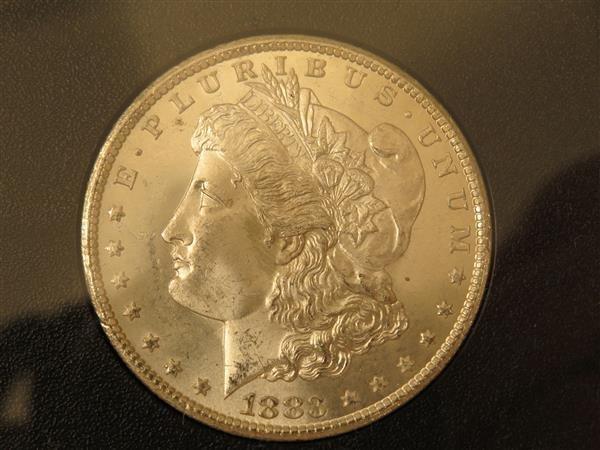 US 1883 Carson City Morgan Silver Dollar Coin #83180339