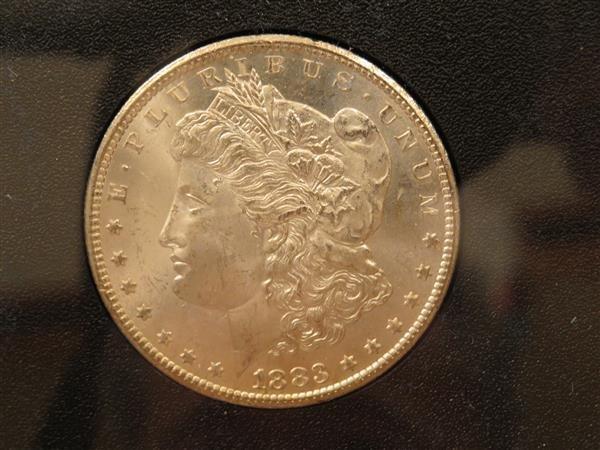 US 1883 Carson City Morgan Silver Dollar Coin #83186097