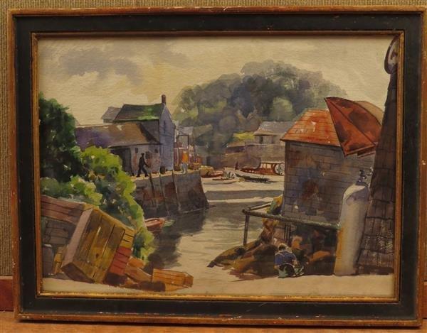 Joseph Newman (1890-1979) Watercolor Painting