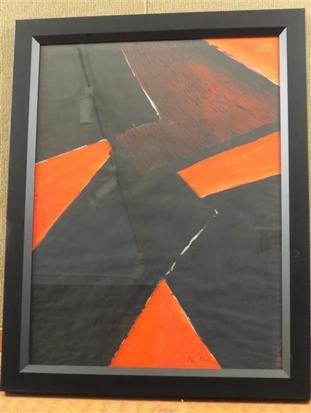 Lloyd Raymond Ney (1893-1965) Abstract Geometric