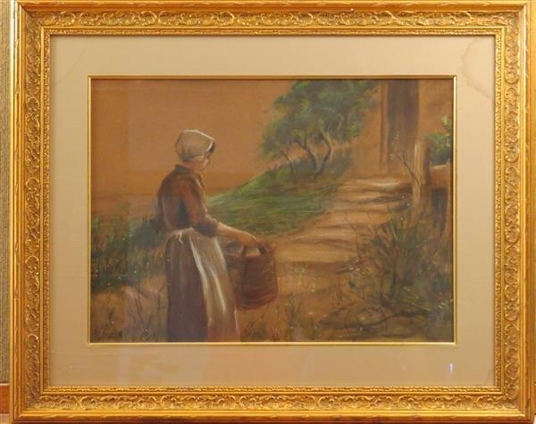 Frederick Stuart Church (1842–1924),Watercolor