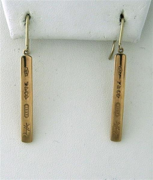 Tiffany & Co Rubido 1837 Drop Earrings