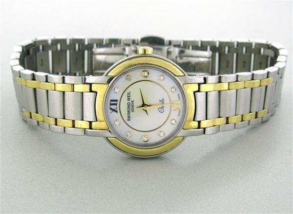 Raymond Weil Womens Othello Diamond Watch 2320 STG