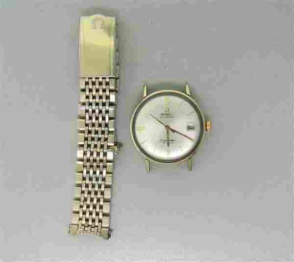 Omega Seamaster 14k Gold Filled Watch