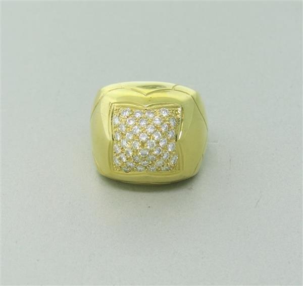 Bvlgari Bulgari Pyramide 18K Gold Diamond Ring - 3