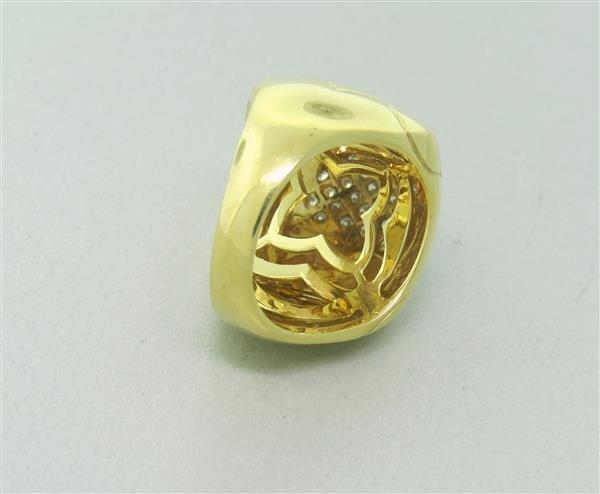 Bvlgari Bulgari Pyramide 18K Gold Diamond Ring - 4