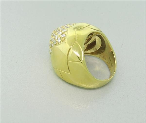 Bvlgari Bulgari Pyramide 18K Gold Diamond Ring - 5