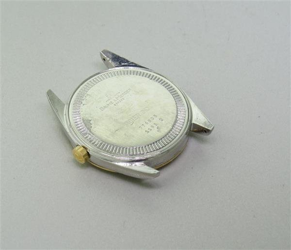 Baume & Mercier Gold Steel Baumatic Mens Watch - 3