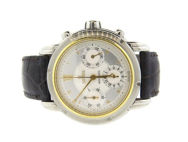 Gevril 1st Generation Steel 18k Gold  Automatic Watch